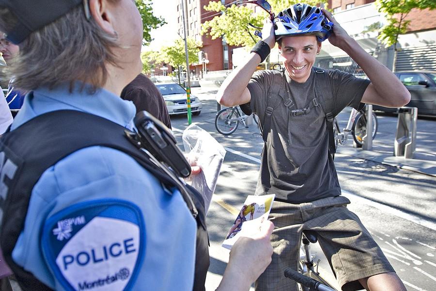 Le mois dernier, les autorités ont tenté de... (Photo: Patrick Sanfaçon, La Presse)