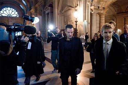 L'ancien trader Jérôme Kerviel encourt cinq ans de... (Photo: AFP)