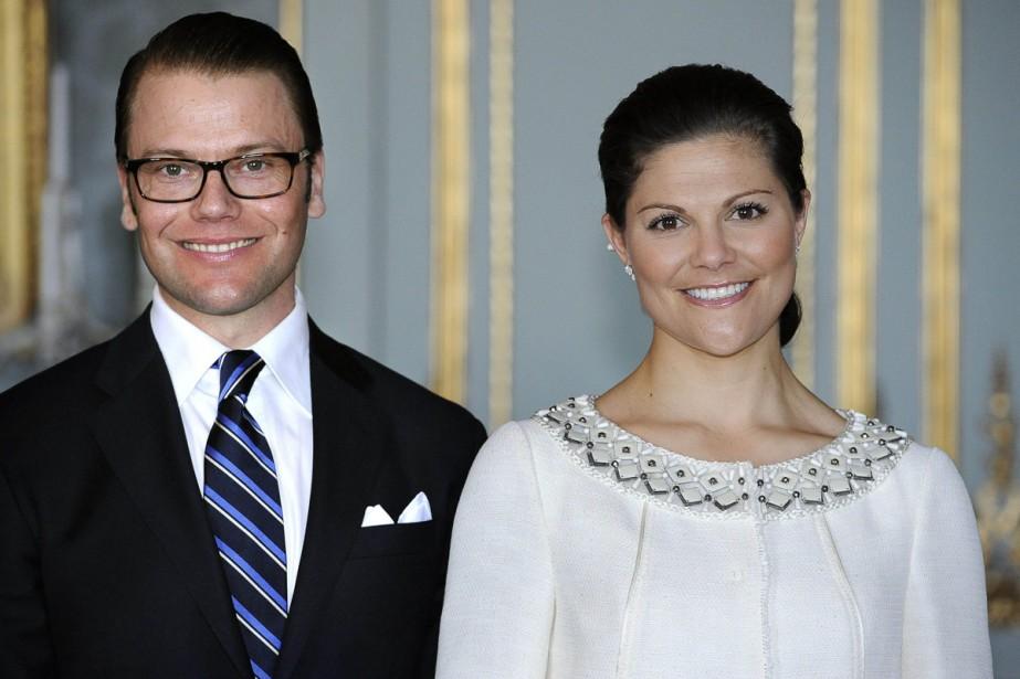 La princesse héritière de Suède Victoria et son... (Photo: AFP)