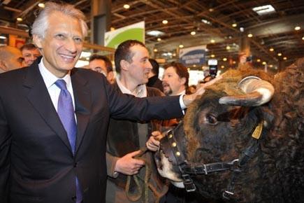 L'ex-premier ministre Dominique de Villepin est en campagne...