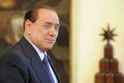 Silvio Berlusconi... (Photo: AFP)
