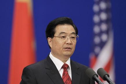 Le président chinois Hu Jintao.... (Photo: Reuters)