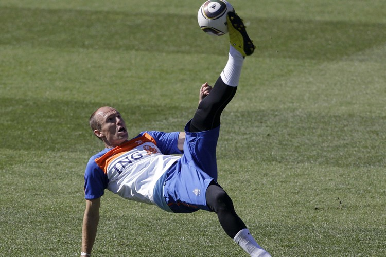 Arjen Robben... (Photo: AP)