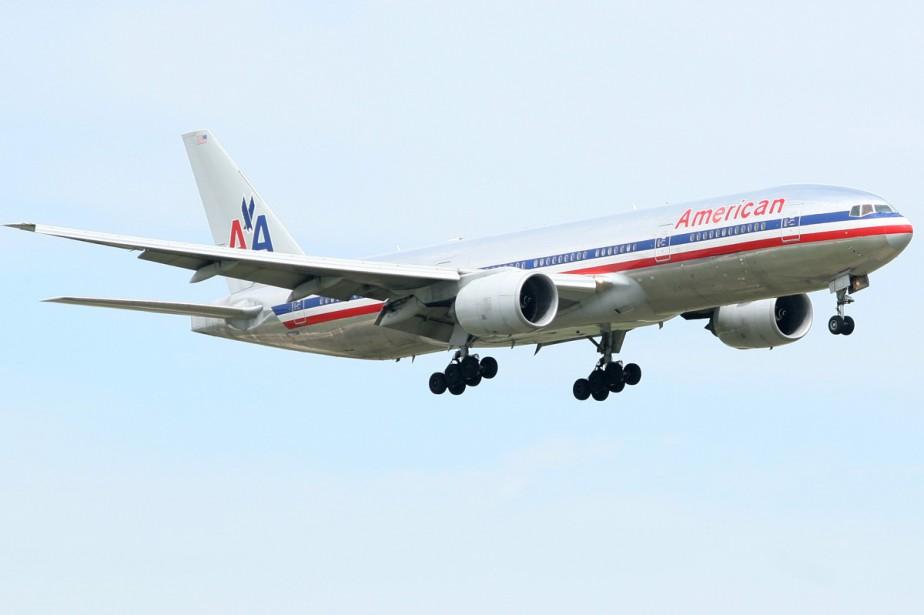 Un avion de la compagnie American airlines... (Photo: Bloomberg)