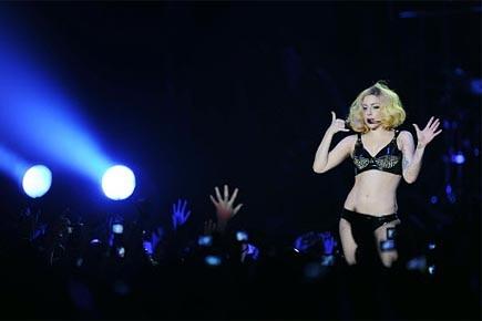 Lady Gaga en spectacle en France, le 21... (Photo: AFP)