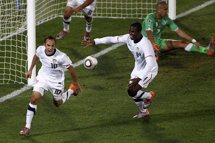 Landon Donovan a marqué pendant la première minute... (Photo: Reuters)