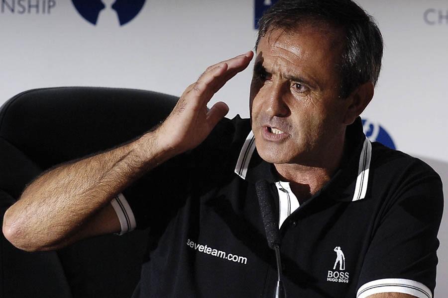 Severiano Ballesteros... (Photo: Archives AFP)