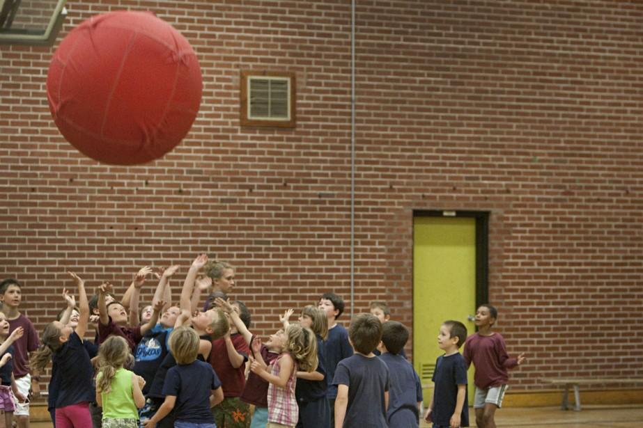 Dernière journée d'école à Clarenceville.... (Photo: Ivanoh Demers, La Presse)