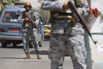 La capacité des insurgés à frapper les policiers... (Photo: Ahmad al-Rubaye, AFP)