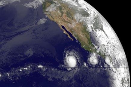 L'ouragan Celia, le premier de la saison dans... (Photo: AFP)