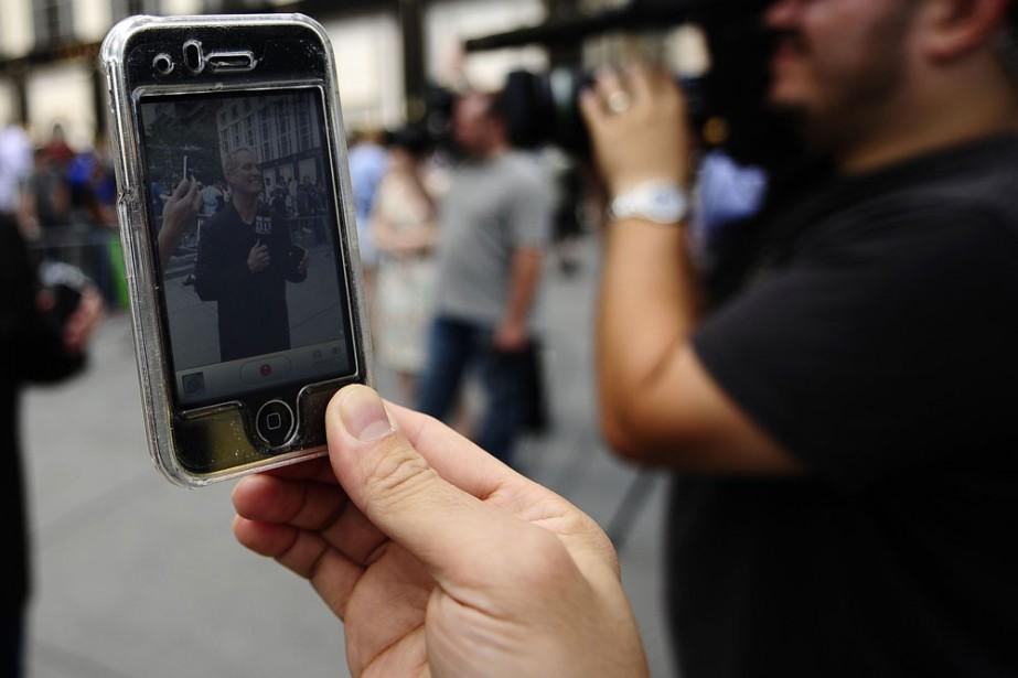 Un iPhone 4... (Photo: AFP)