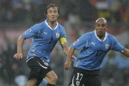 L'Uruguay s'est qualifiée pour les quarts de finale... (Photo: AFP)