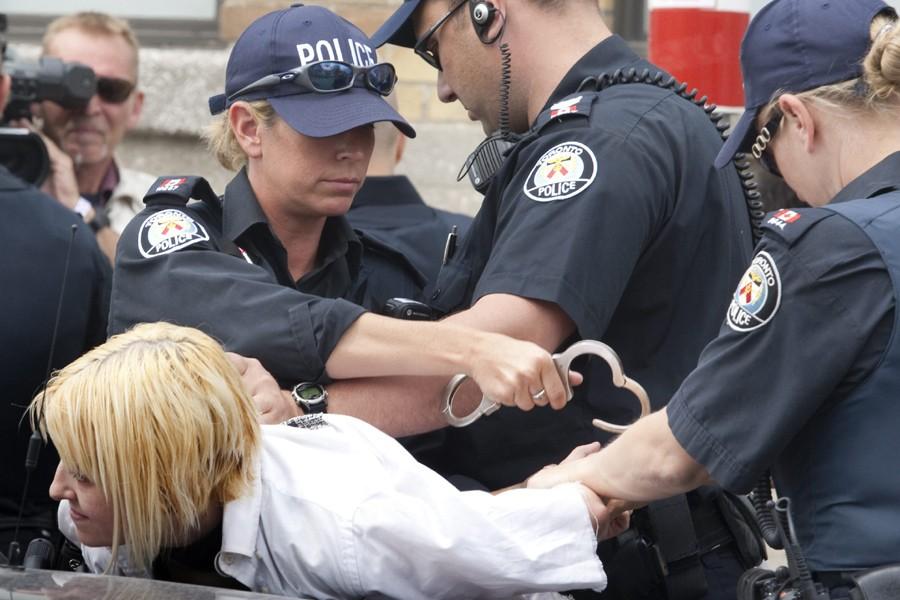 Plus d'un millier de personnes ont été arrêtées... (Photo: PC)