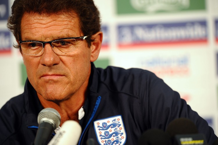 Le sélectionneur de l'Angleterre, Fabio Capello.... (Photo: AFP)