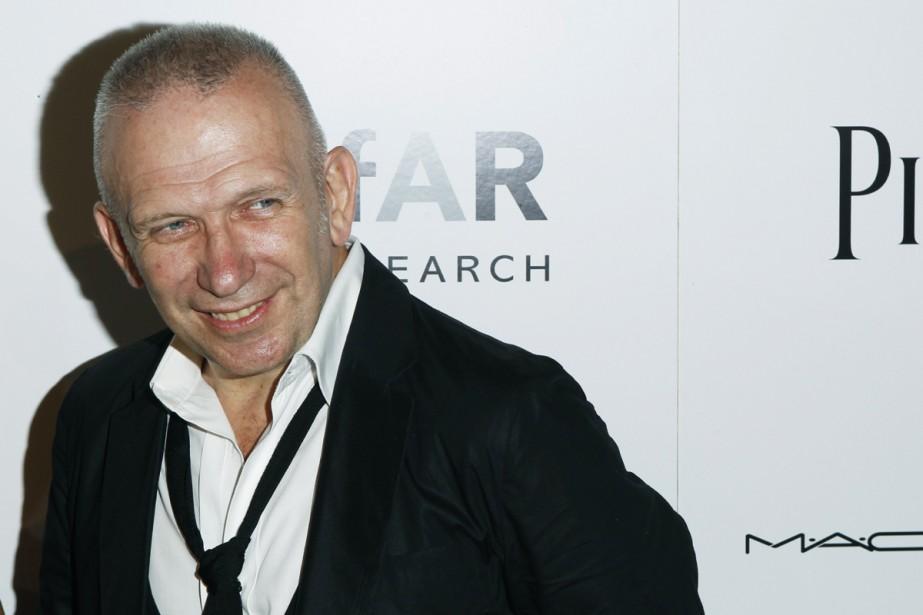 Le couturier français Jean-Paul Gaultier... (Photo: Reuters)