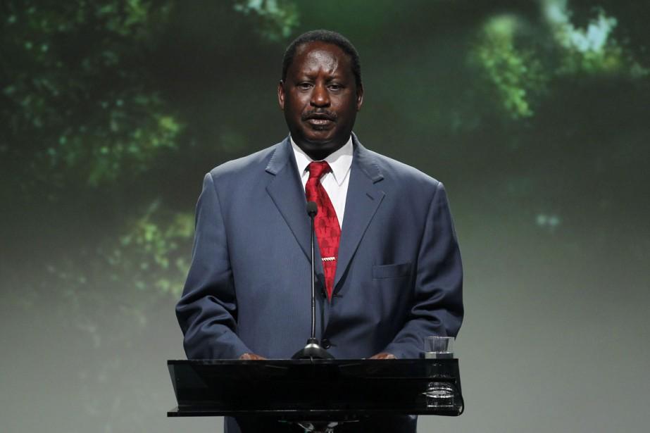 Raila Odinga a été hospitalisé lundi soir et... (Photo: AFP)