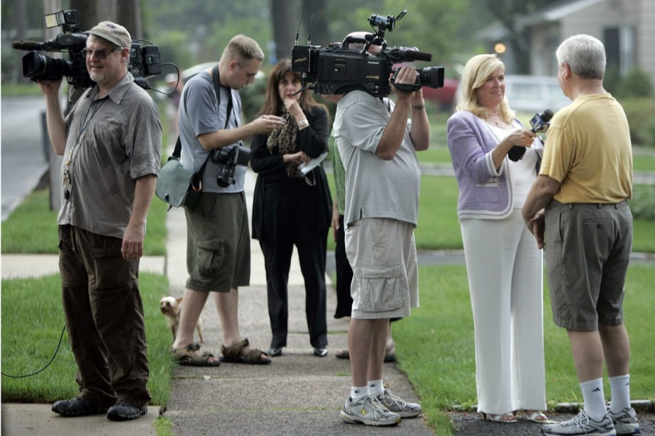 Les habitants de Montclair, au New Jersey ont... (Photo: AFP)