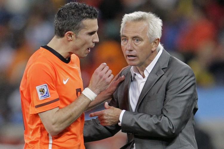 Robin van Persie (à gauche) aurait affirmé que... (Photo: Reuters)