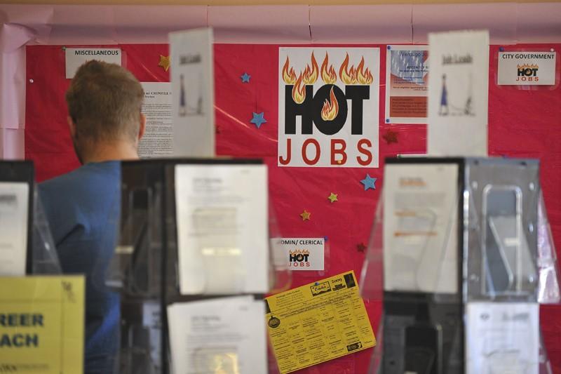 En mai, les entreprises n'avaient créé que 41... (Photo archives AFP)