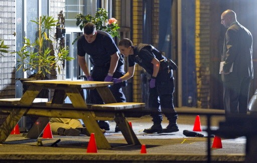 Agostino Cuntrera a été abattu mardi après-midi devant... (Photo: Alain Roberge, La Presse)