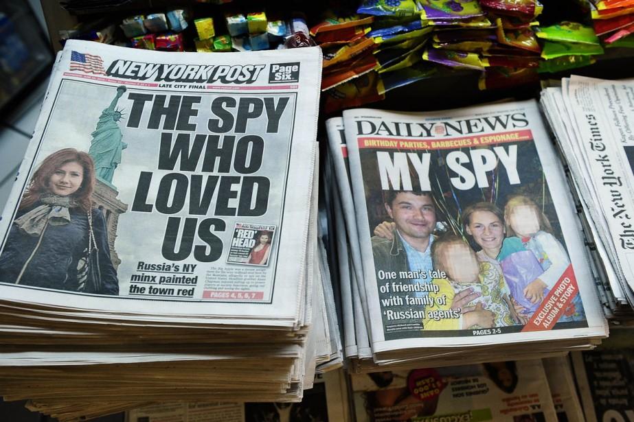 Des journaux américains... (Photo: AFP)