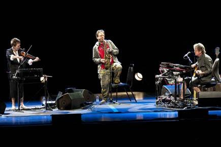 Laurie Anderson, John Zorn et Lou Reed: beaucoup... (Photo fournie par le FIJM)