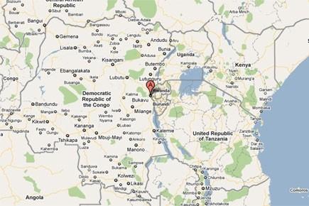 Le drame s'est produit à Sange, gros bourg... (Photo: Google map)