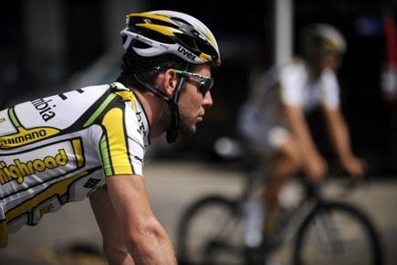Le Britannique Mark Cavendish a l'ambition de mettre... (Photo: Lionel Bonaventure, AFP)
