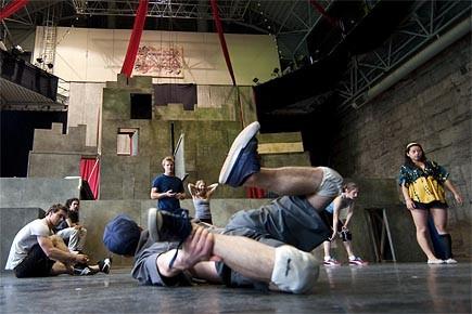 L'âme du Cirque Éloize aujourd'hui, c'est... (Photo: Robert Skinner, La Presse)