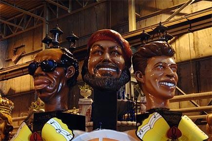 Comme à La Nouvelle-Orléans, les chars qui défileront... (Photo: fournie par le FIJM)