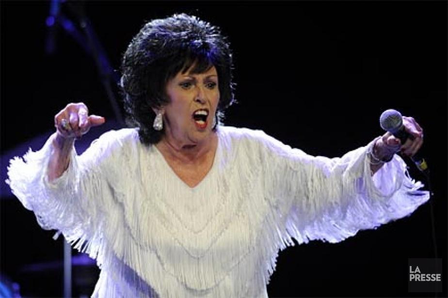 À 75ans, Wanda Jackson, chanteuse de country et... (Photo: Bernard Brault, archives La Presse)