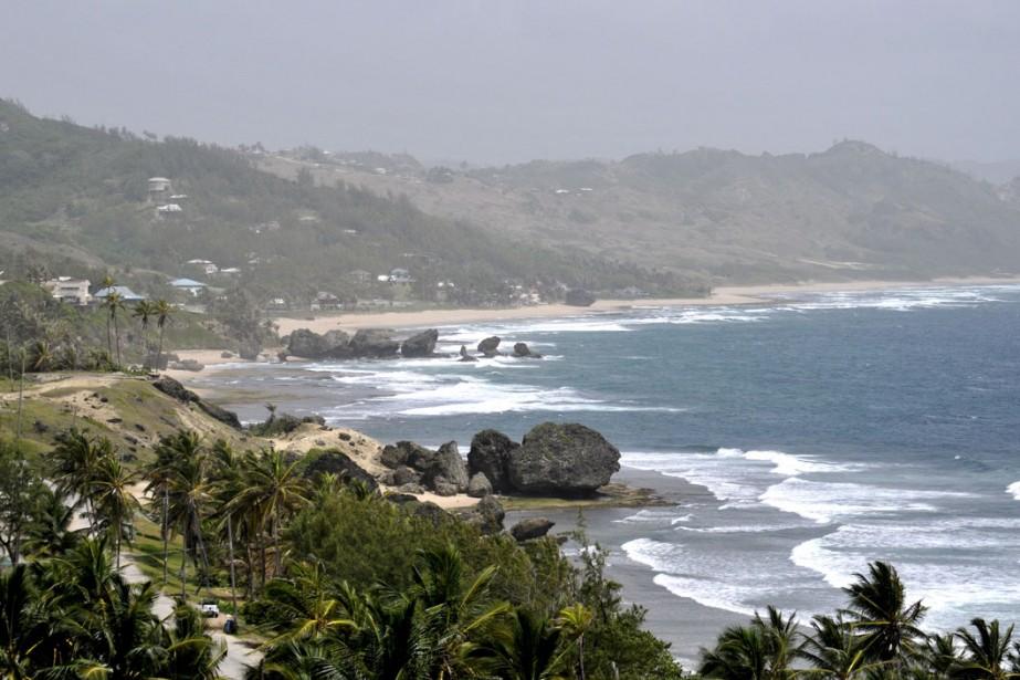 La côte atlantique de l'île, plus sauvage et... (Photo: fournie par Barbados tourism authority)