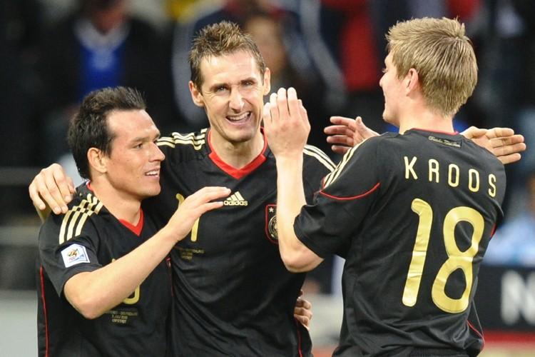 Les Allemands ont dominé dans toutes les facettes... (Photo: AFP)