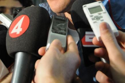 Avec déjà 59 journalistes tués dans l'exercice de leur fonction... (Photo: AFP)