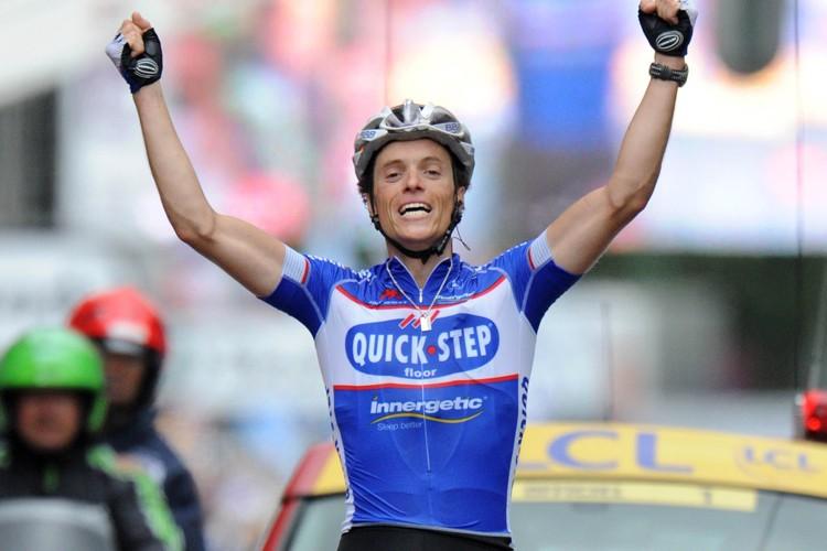 Sylvain Chavanel a remporté la deuxième étape du... (Photo: AFP)