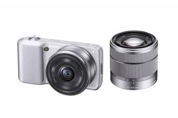 Le Sony NEX, décliné en deux versions (NEX-3... (Photo: Sony)