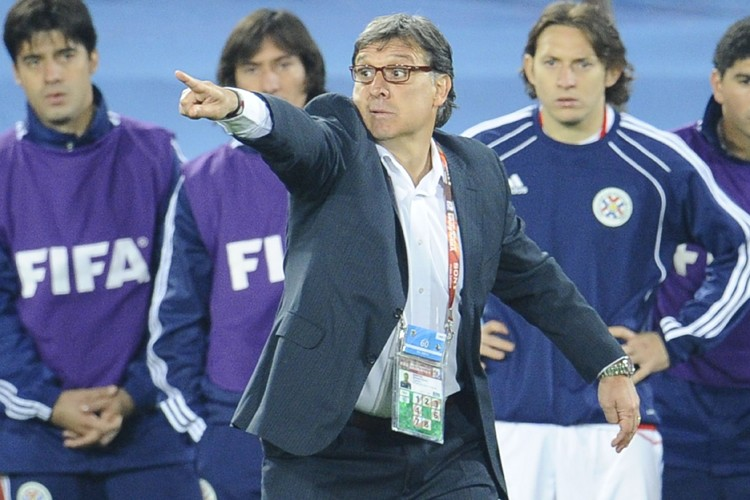 L'entraîneur du Paraguay, Gerardo Martino.... (Photo: AFP)