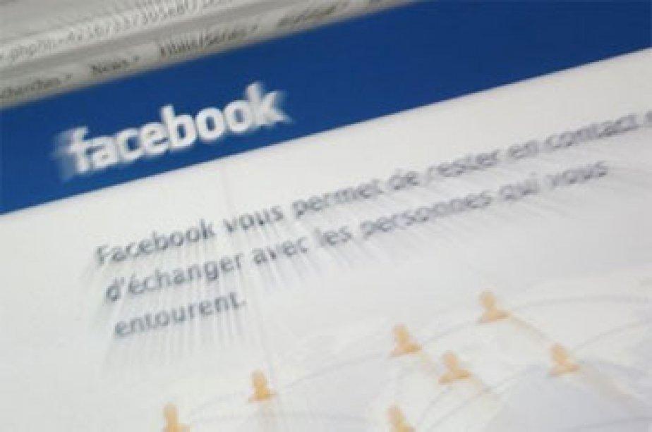 Selon eMarketer, les revenus publicitaires de Facebook vont... (Photo: page d'accueil de Facebook)