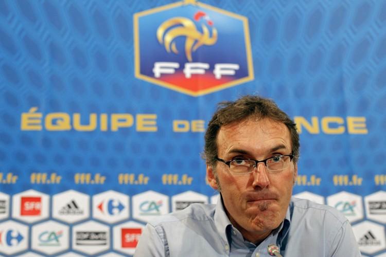 Le nouveau sélectionneur de l'équipe de France, Laurent... (Photo: AP)