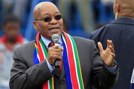 Le président sud-africain Jacob Zuma.... (Photo: Reuters)