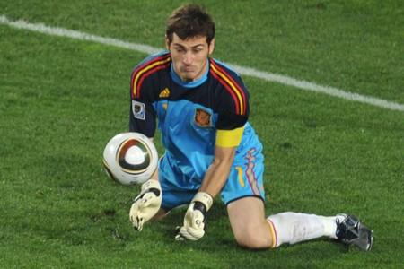 Le gardien espagnol Iker Casillas... (Photo: AFP)