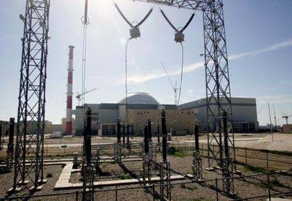 Un réacteur nucléaire en construction à Busher, ville... (Photo: Behrouz Mehri, AFP)