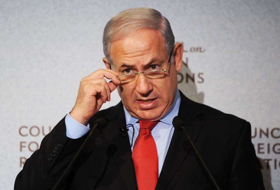 Le premier ministre israélien Benjamin Nétanyahou.... (PHOTO: STAN HONDA, AFP)