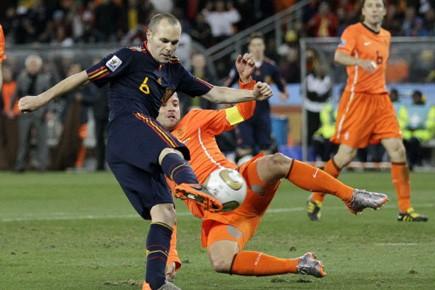 Le but de la victoire en finale, marqué... (Photo AP)