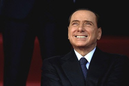 Berlusconi, 73 ans.... (Photo AFP)