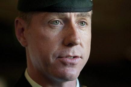 Le brigadier général Daniel Ménard fait face à... (Photo: PC)