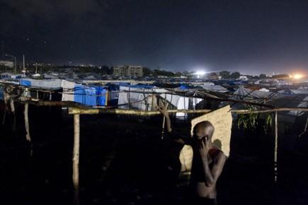 Le vrai drame des camps crève les yeux:... (Photo: Martin Chamberland, La Presse)