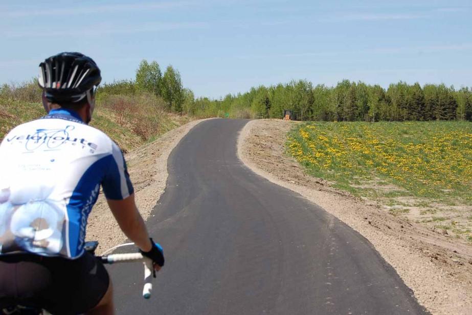 La Véloroute des bleuets a 10 ans. (Photo: Le Quotidien)