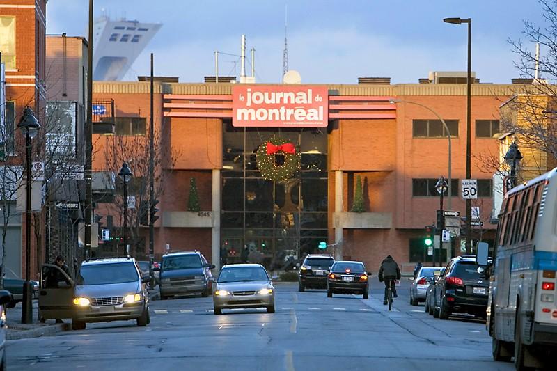 La direction du Journal de... (Photo Alain Roberge, archives La Presse)
