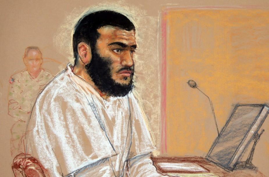 S'il est trouvé coupable, Omar Khadr est passible... (ILLUSTRATION: JANET HAMLIN, ARCHIVES PC)